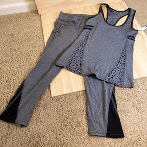 Jvini 2 Piece Workout Outfit
